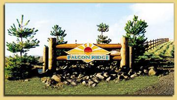 Falcon Ridge Sign